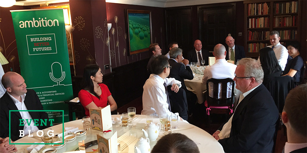 Event Blog   Chairmans Lunch