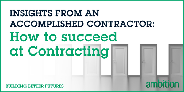 Contracting Blog Insights Contractor